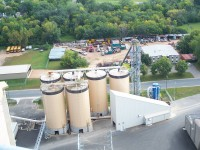 The product of a joint partnership between the Shakopee Mdewakanton Sioux Community and Rahr Malting, the six silos at the Koda Energy facility hold agricultural byproducts that are burned to generate power. Cleaner than a coal plant, Koda Energy is the only facility in the United States that uses natural materials exclusively to produce energy. | Courtesy of the Shakopee Mdewakanton Sioux Community