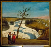 Julius R. Sloan, St. Anthony Falls, 1852. | Courtesy of the Minnesota Historical Society